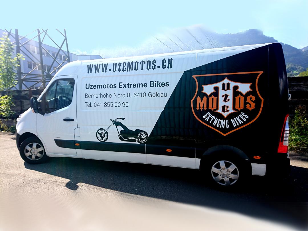 Motorrad hol und bring Service