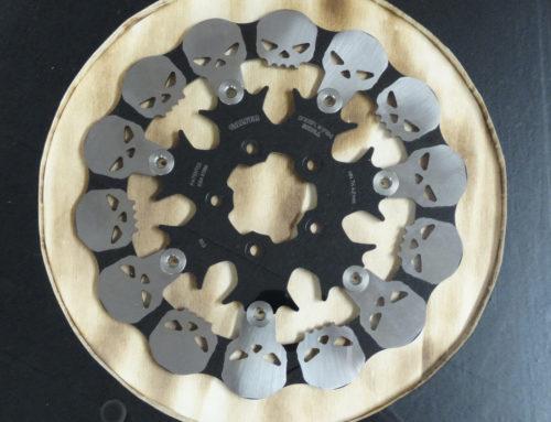 Harley Davidson  Skull Bremsscheiben
